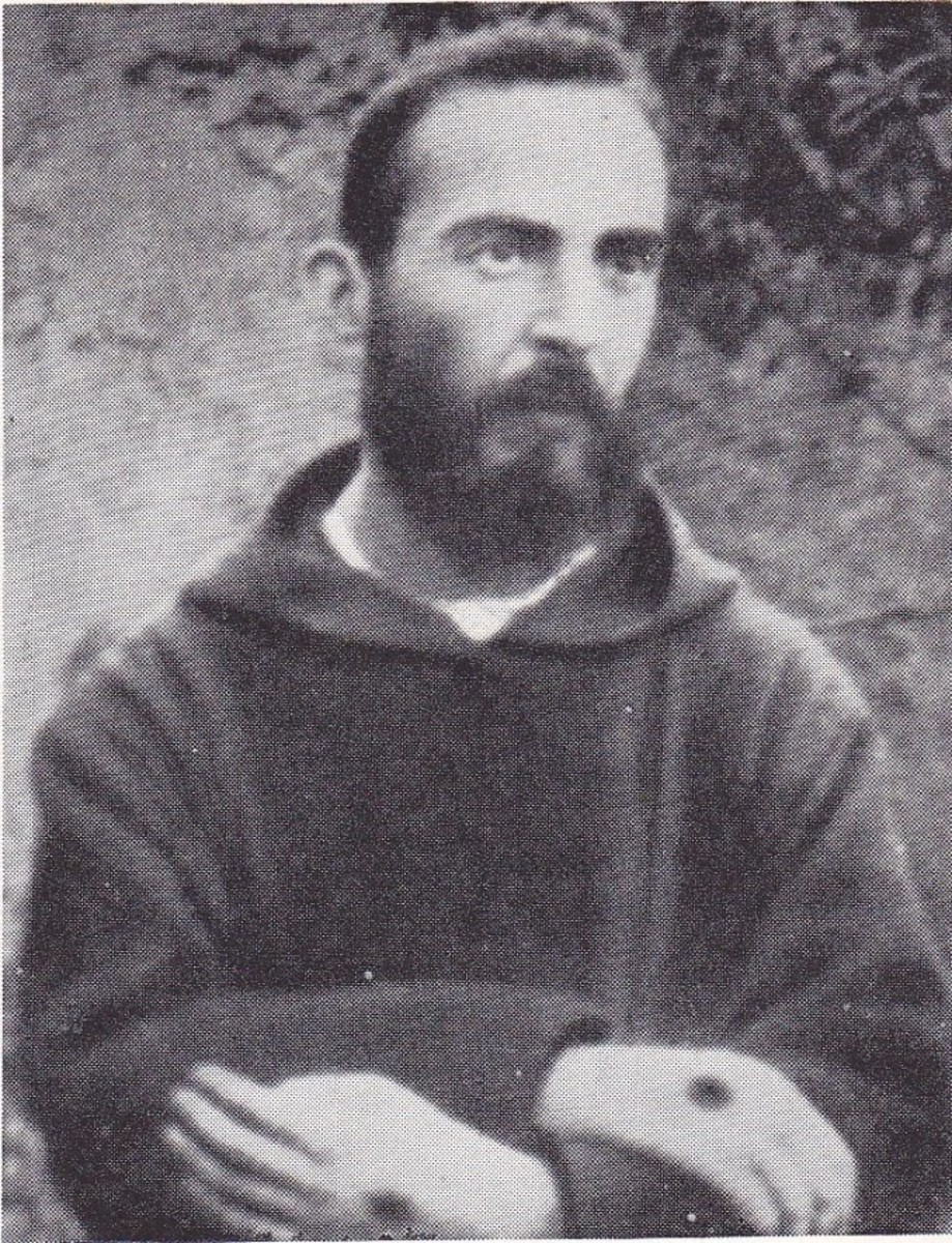 The man who will become Padre Pio
