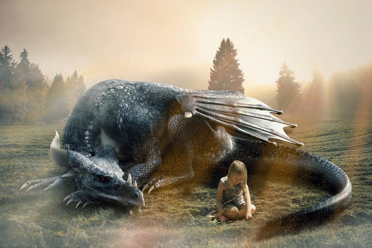 Dragon and Me - a Fantasy Poem
