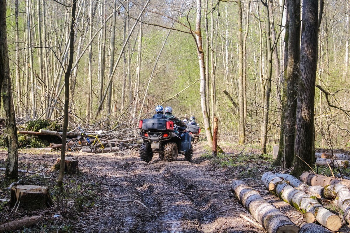 ATV on Trail