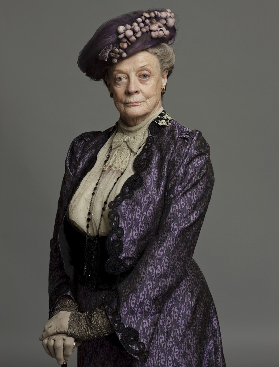 Downton Abbey's Maggie Smith developed the best one liners.