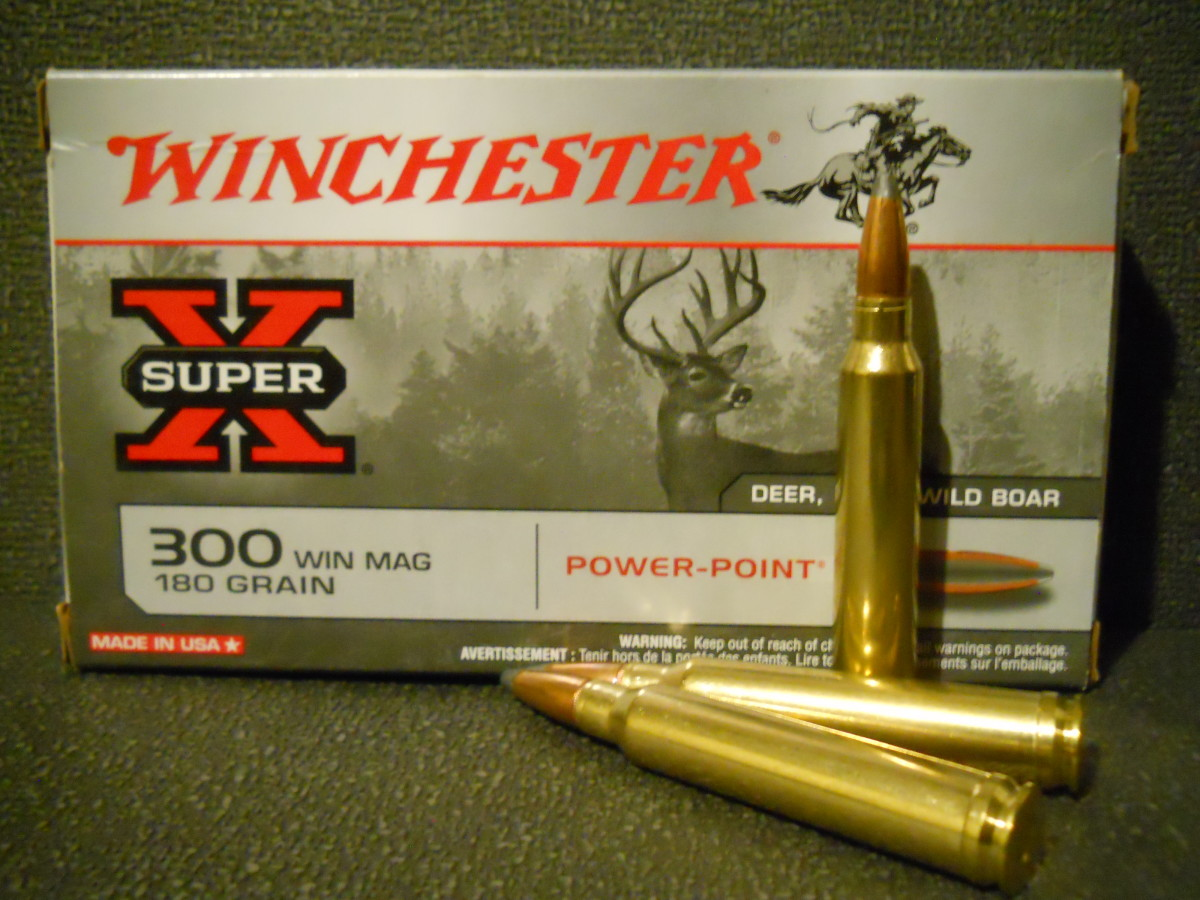 Ammunition Review: Winchester Super-X .300 Win. Mag. 180 Grain Power Point