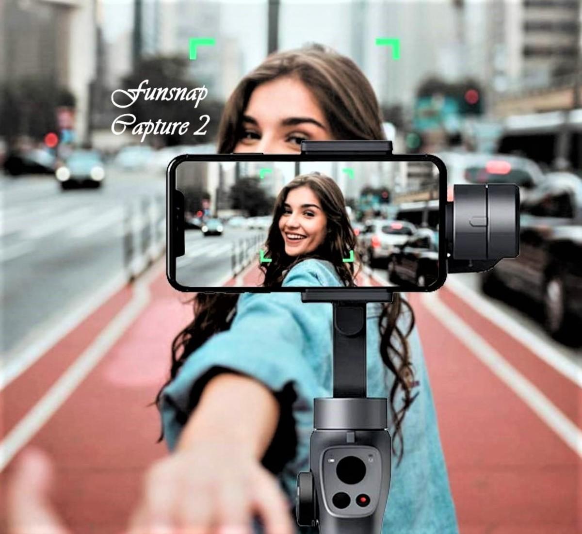 Funsnap Capture 2 Handheld Smartphone Stabilizer Gimbal