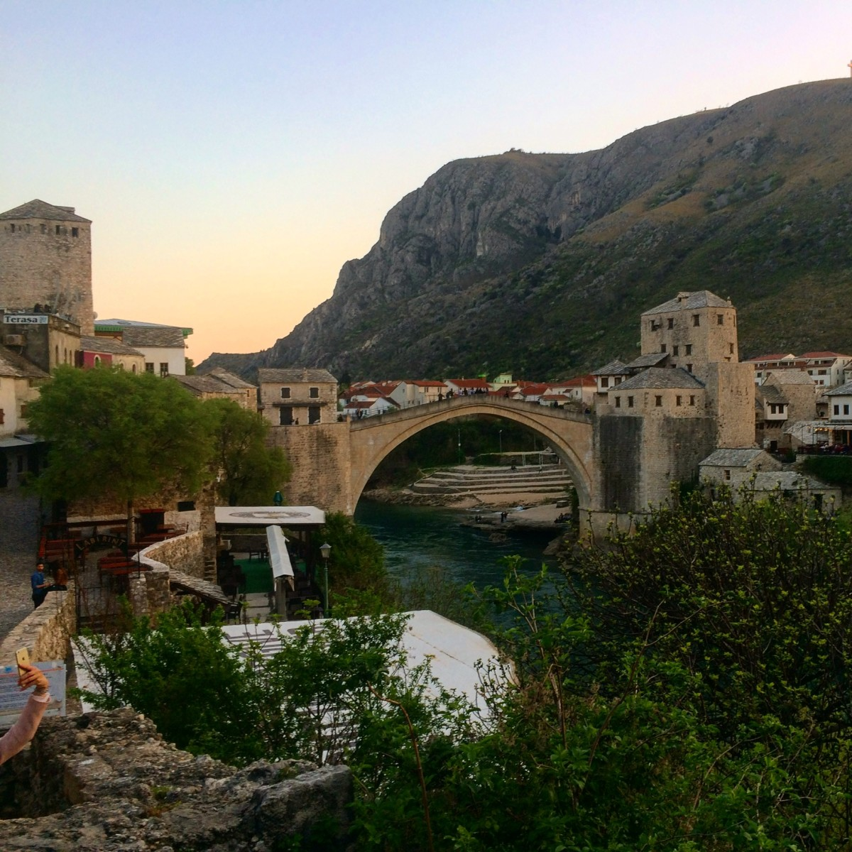 I loved Mostar, Bosnia. You know the trip was worth it when you're sad to leave!