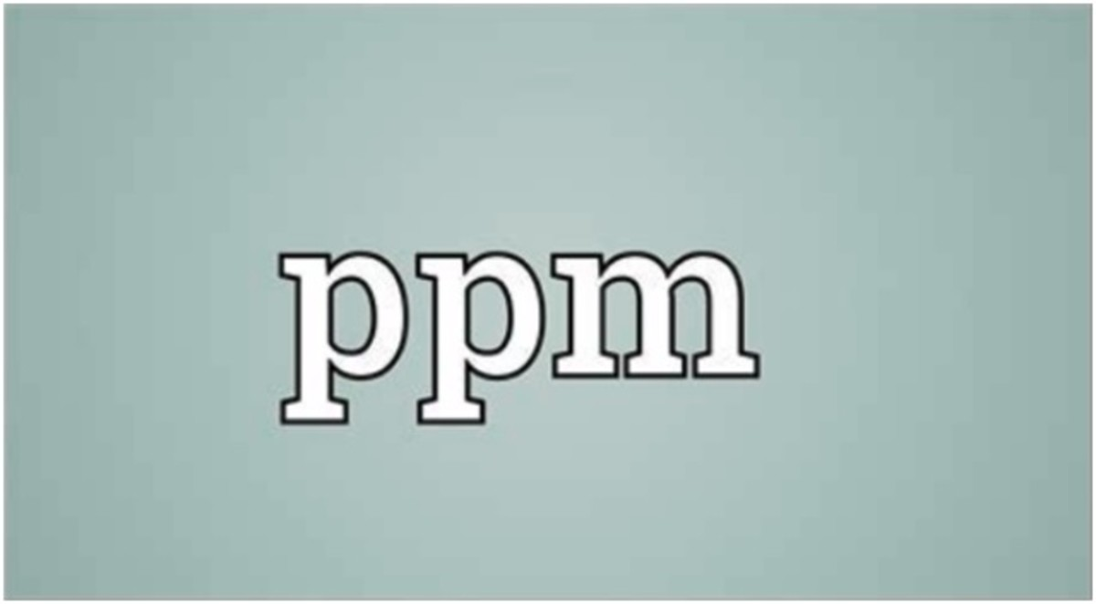 1ppm – Have You Ever Wondered What 1ppm Means?