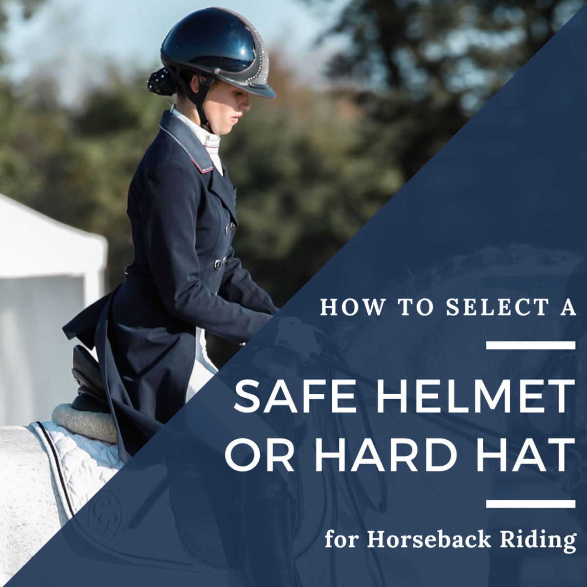 Hard hats are essential for any level of rider.