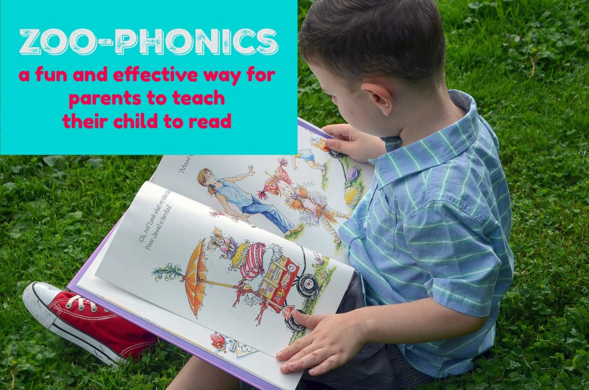 How Parents Can Teach Their Kindergartners to Read With Zoo-Phonics