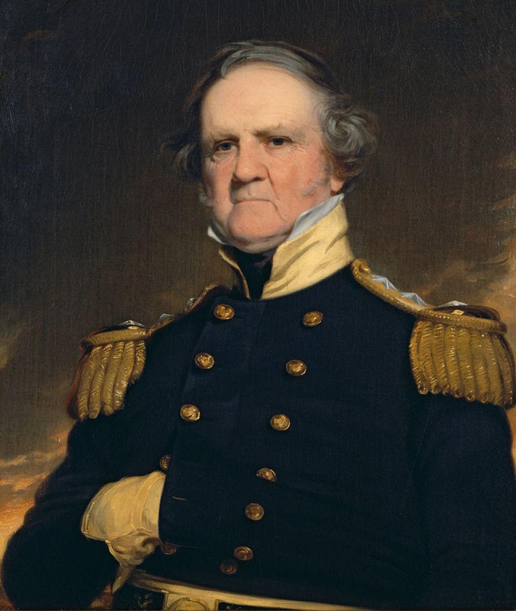 General Winfield Scott circa 1855.