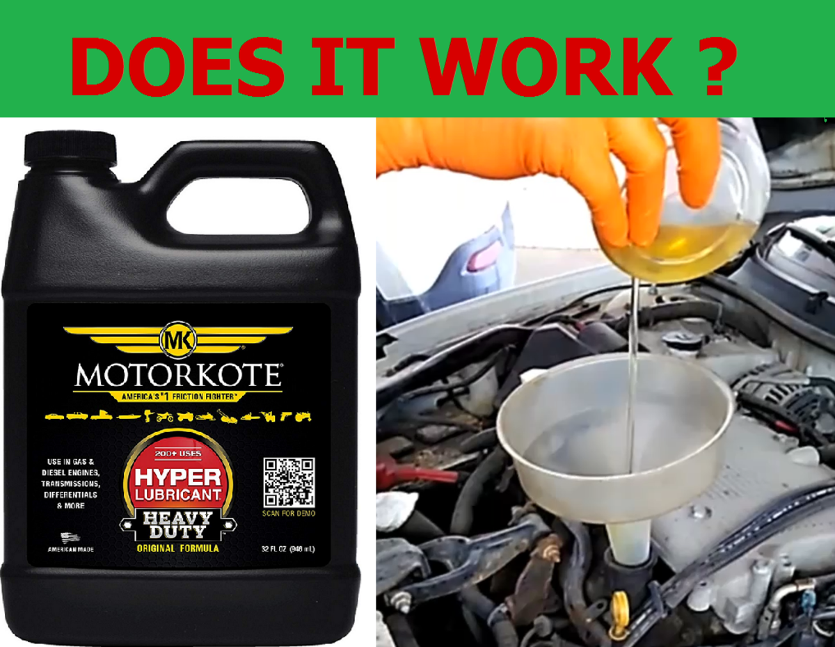My Test Showed the Oil Additive Motorkote Increased Power and Mileage