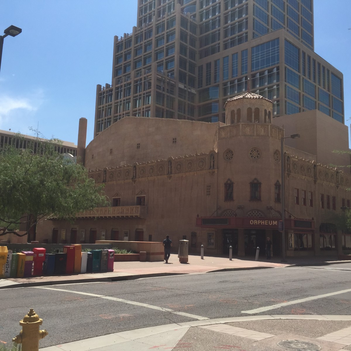 Historic Orpheum Theatre in Downtown Phoenix