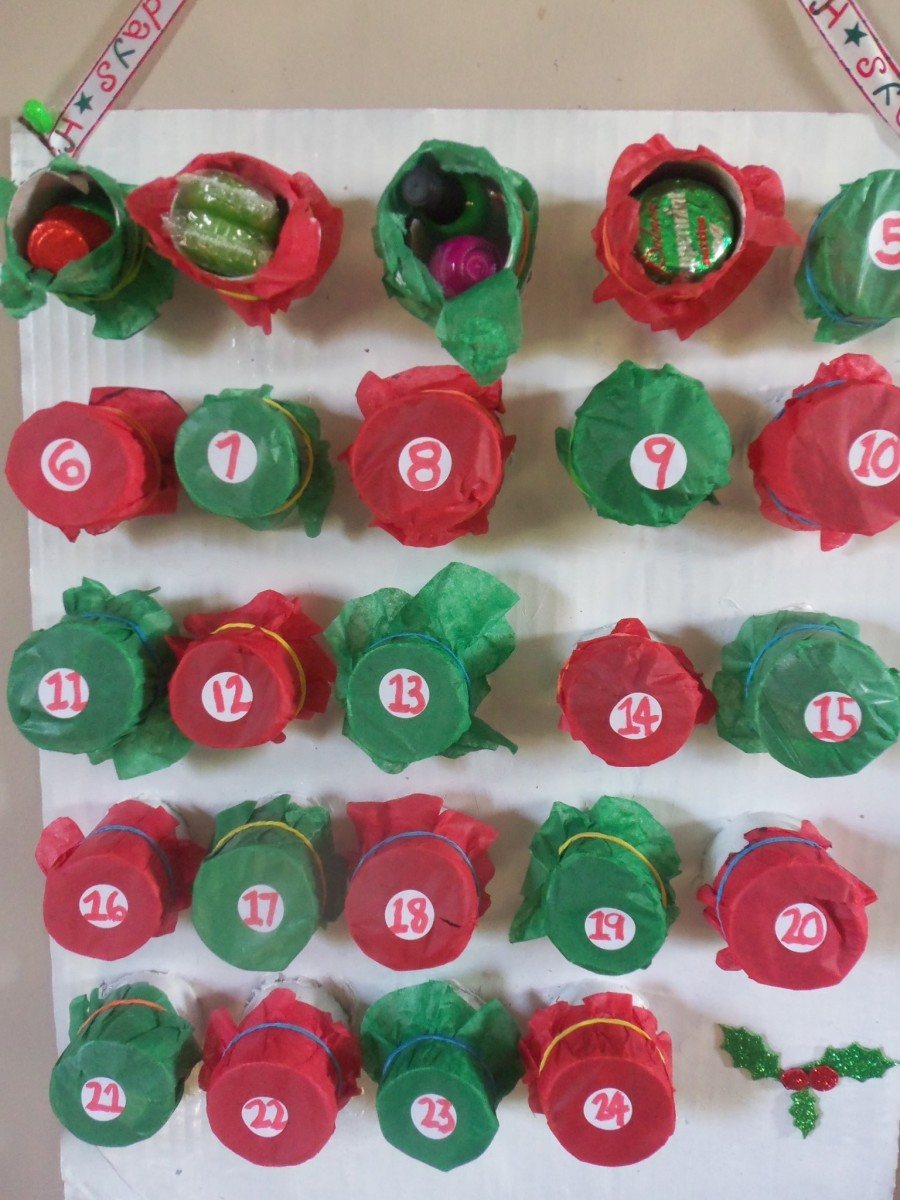 How to Make a Recycled DIY Advent Calendar