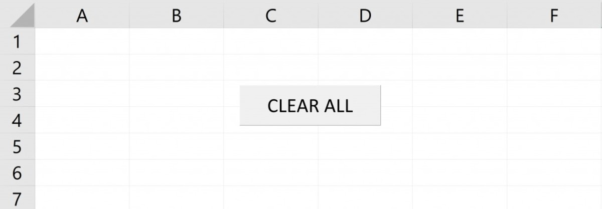 A button that clears your work could save you quite a bit of time if you frequently clear data on the same Microsoft Excel worksheet.