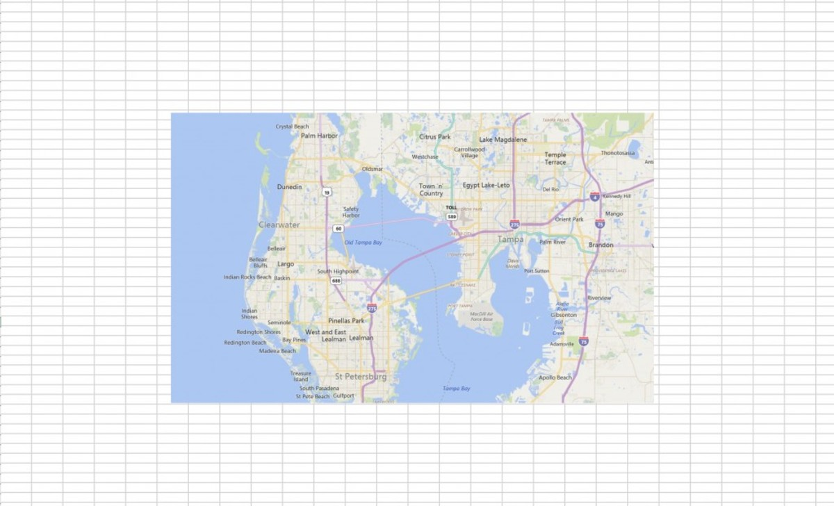 Activating and Using the Bing Maps Add-in in MS Excel