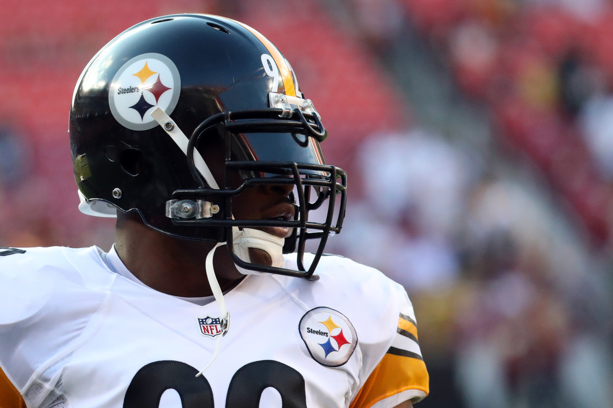 Linebacker James Harrison is one of the best defensive players in Steelers' history.