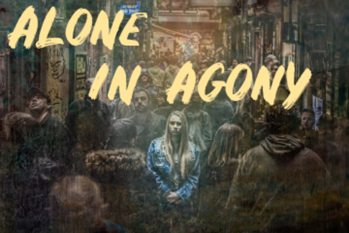 Poem: Alone In Agony