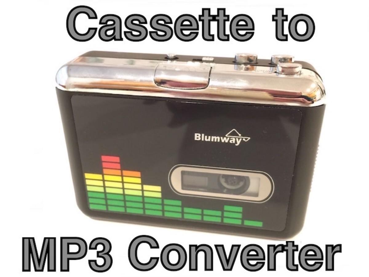 BlumWay USB Cassette to MP3 Converter
