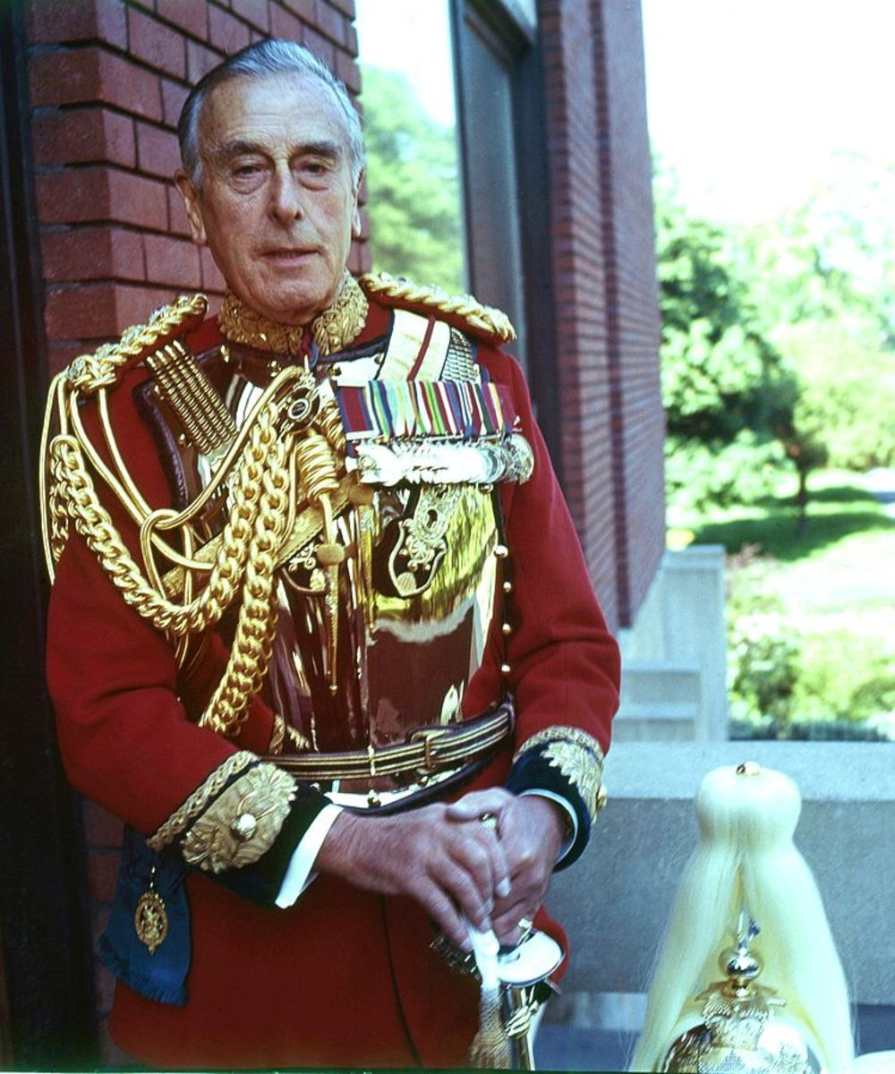 "Lord Louis Francis Albert Victor Nicholas Mountbatten, 1st Earl Mountbatten of Burma, known to close associates as ""Dickie."""
