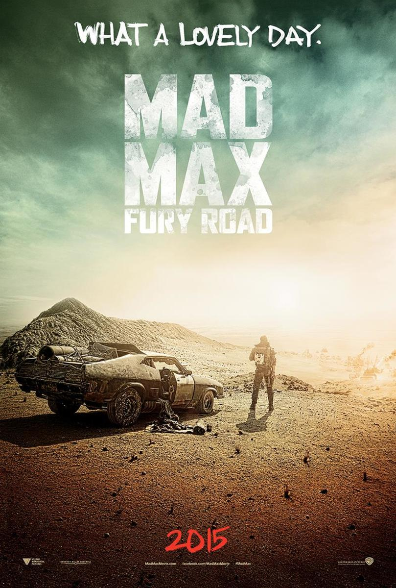 Movie poster for Mad Max: Fury Road, likely owned by Warner Bros.