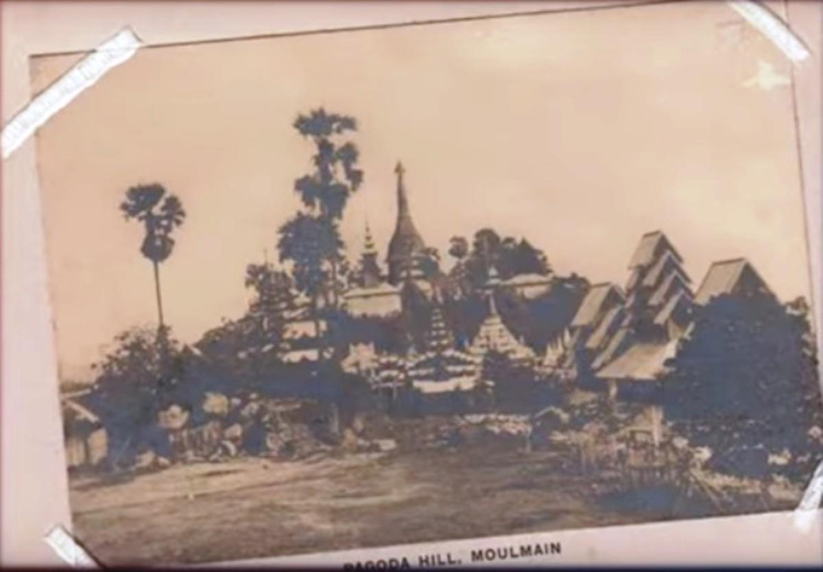 Moulmein (Moulmain) Pagoda