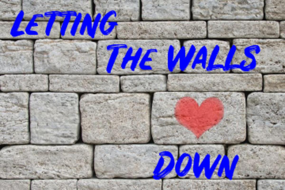 Poem: Letting the Walls Down