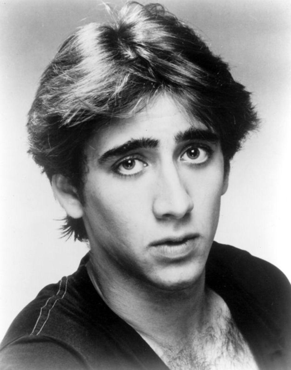 Nicolas Cage in the 80s