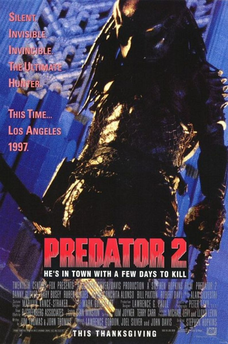 'Predator 2' (1990) A Concrete Jungle Movie Review