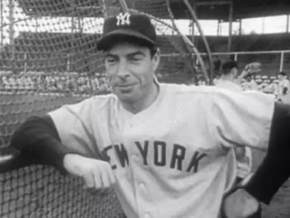 Joe DiMaggio in his final season, 1951.