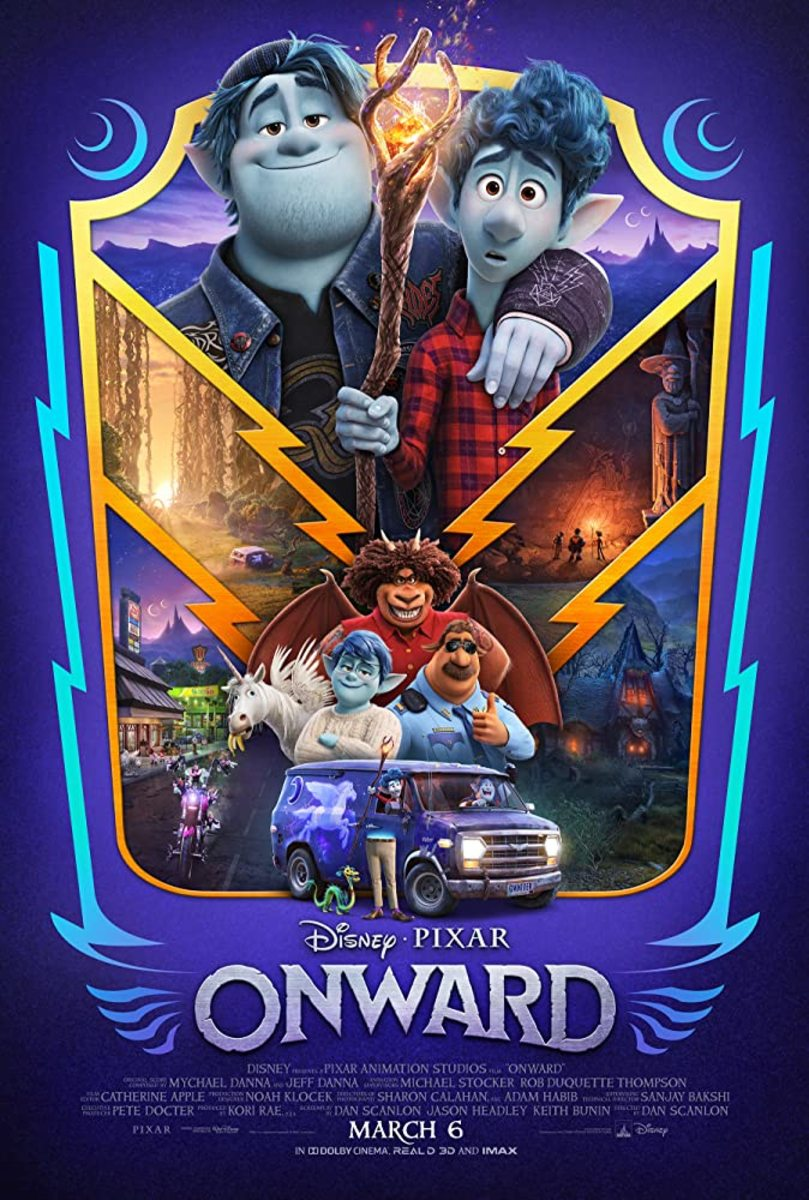 'Onward' (2020) A Magical Movie Review