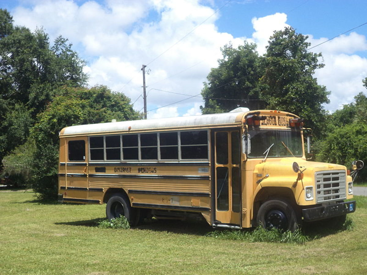 About Abandoned School Buses