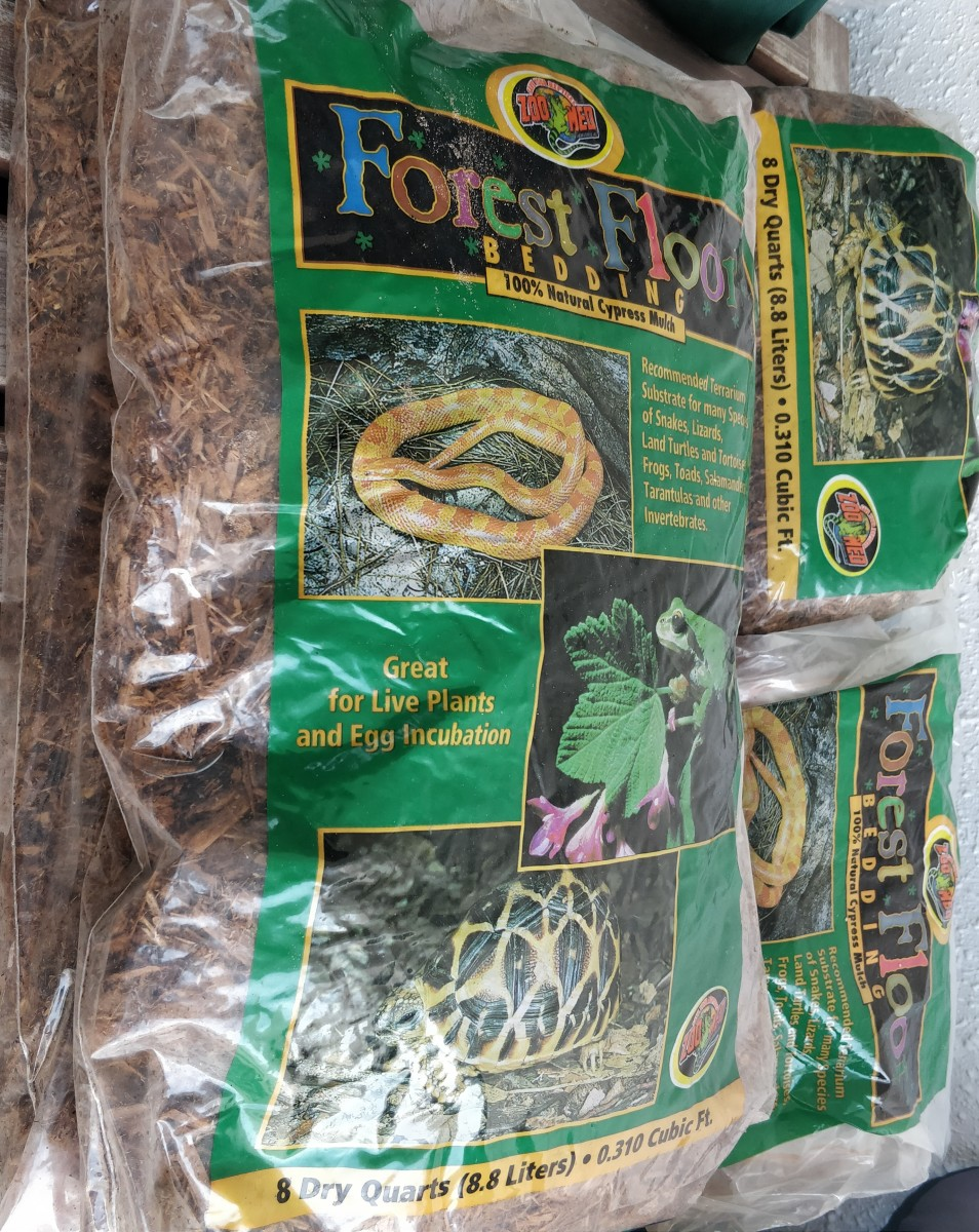 Substrates and Safe-to-Use Plants for Tortoise Enclosures