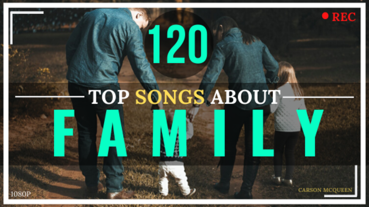 There are so many great songs about families out there. These 120 are my absolute favorites.