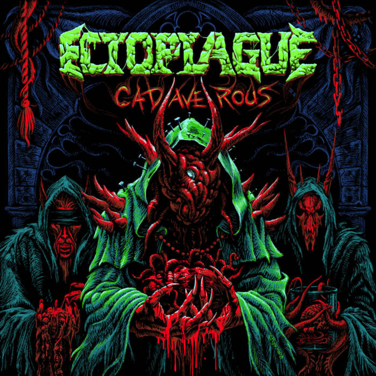 "Cover art for the album ""Cadaverous,"" by Ectoplague"