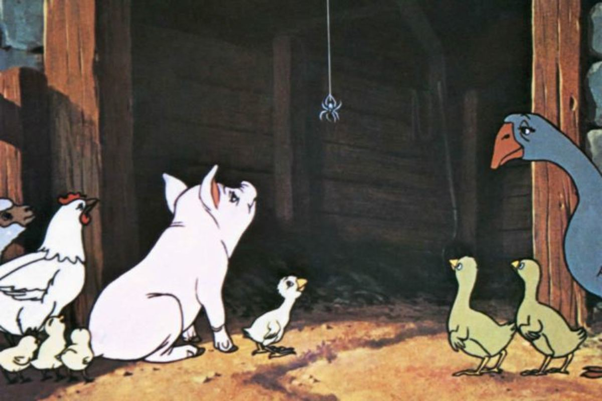 """Charlotte's Web"" (1973): A Classic Tale of True Friendship and Love"