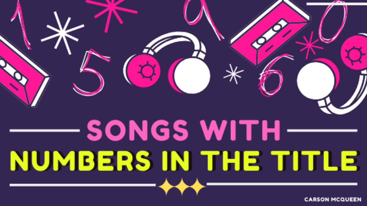 Songs with numbers in their titles are more common than you'd think. See if your favorite made the list.
