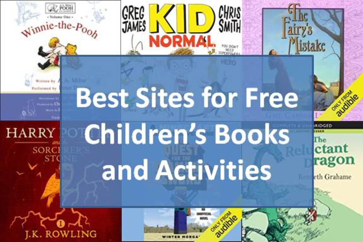 Best Sites for Finding Free Children's Books and Activities