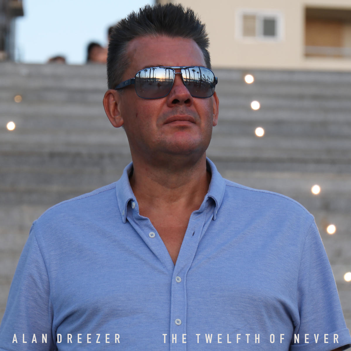 "Artwork for Alan Deezer's new single, ""Twelfth of Never"""