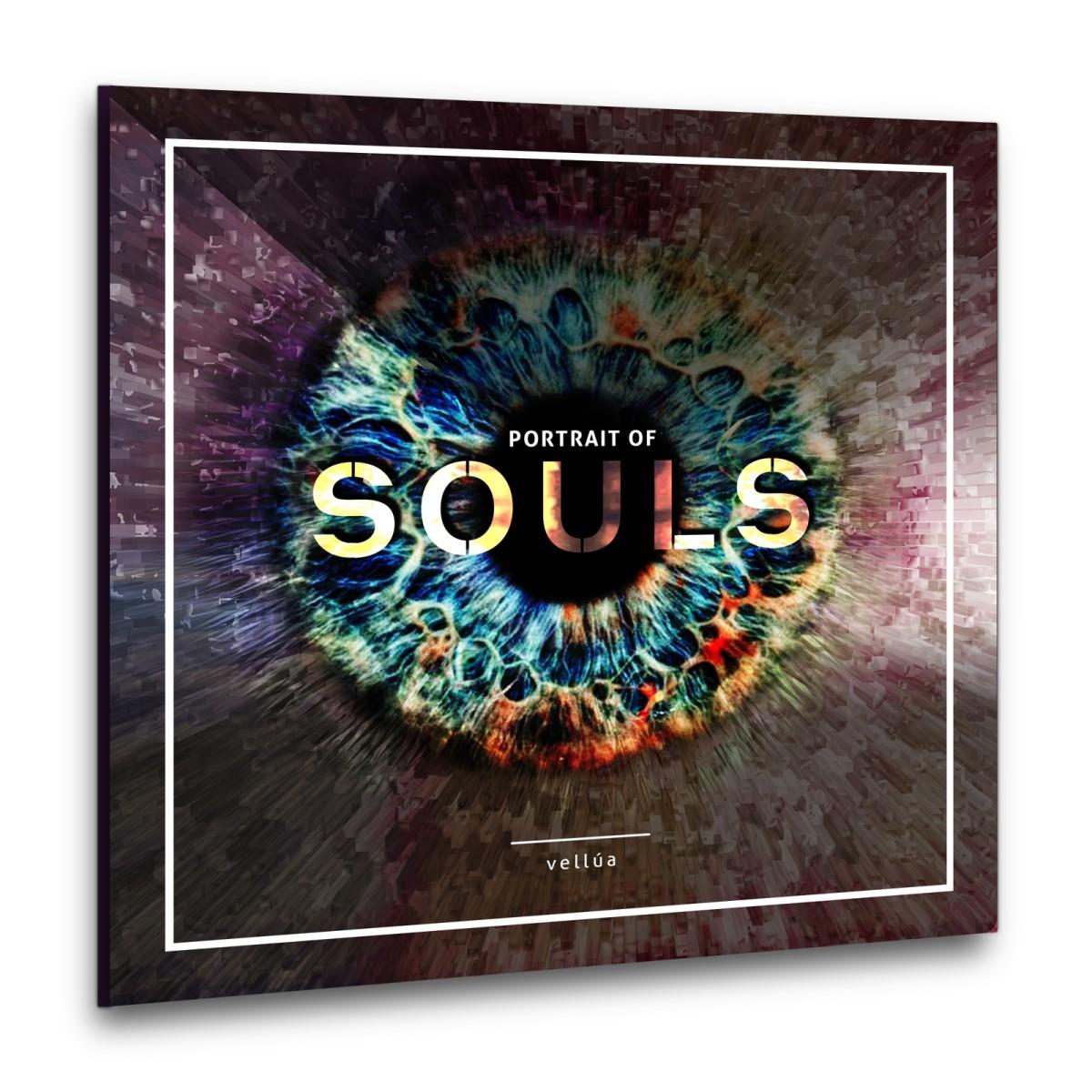 "Album art for  ""Portrait of Souls,"" by Vellúa"