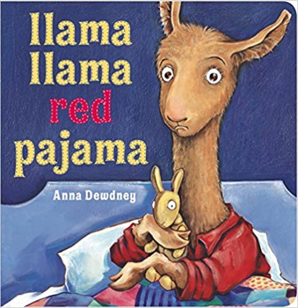 """Llama Llama Red Pajama"" cover"
