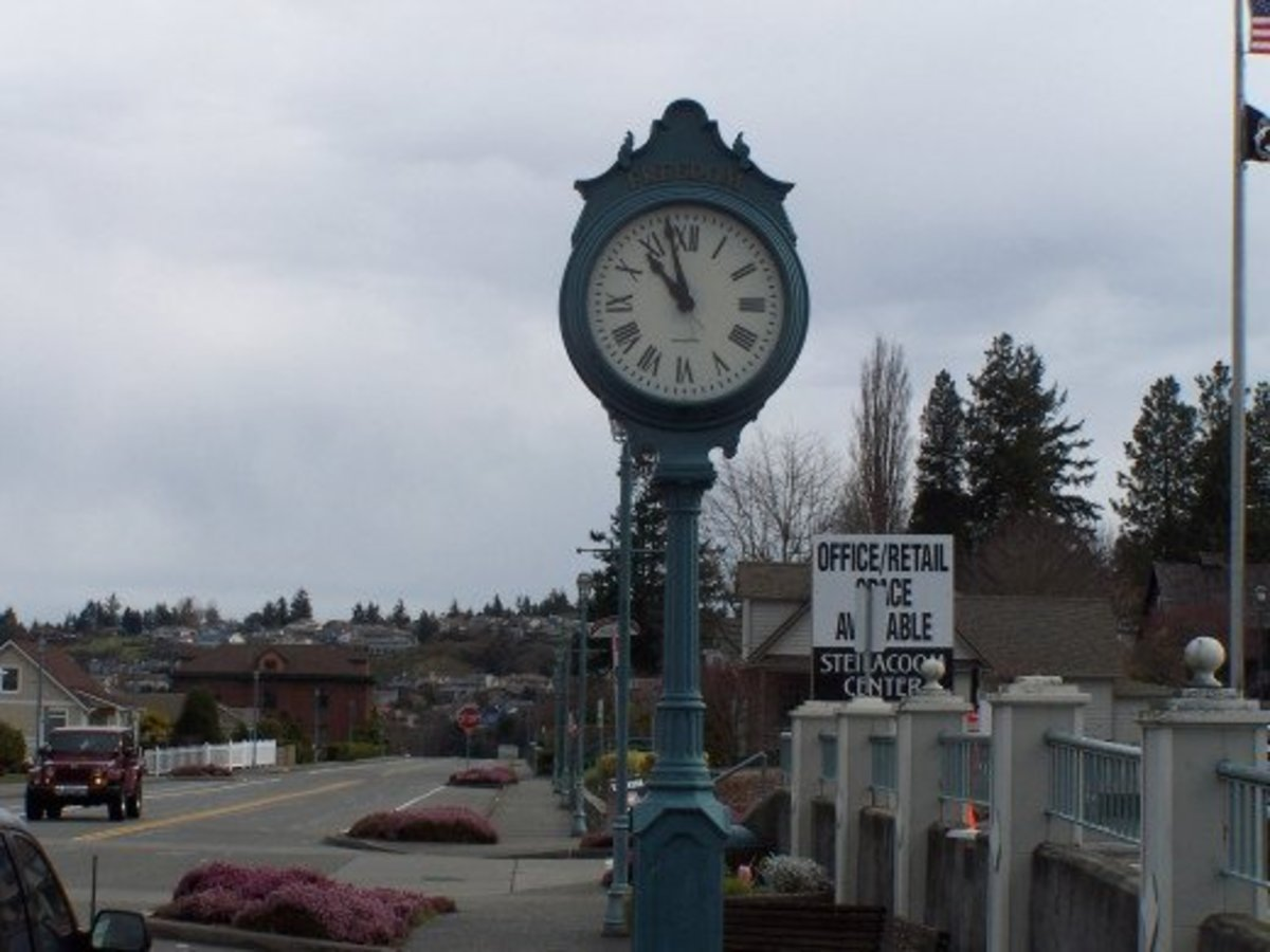The Clock, Short, Short Fiction, A Response to Bill Holland's Photo Challenge #5