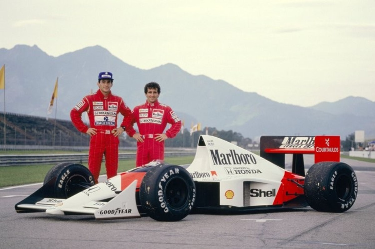 The Senna-Prost Battles: The Other Side of the Story