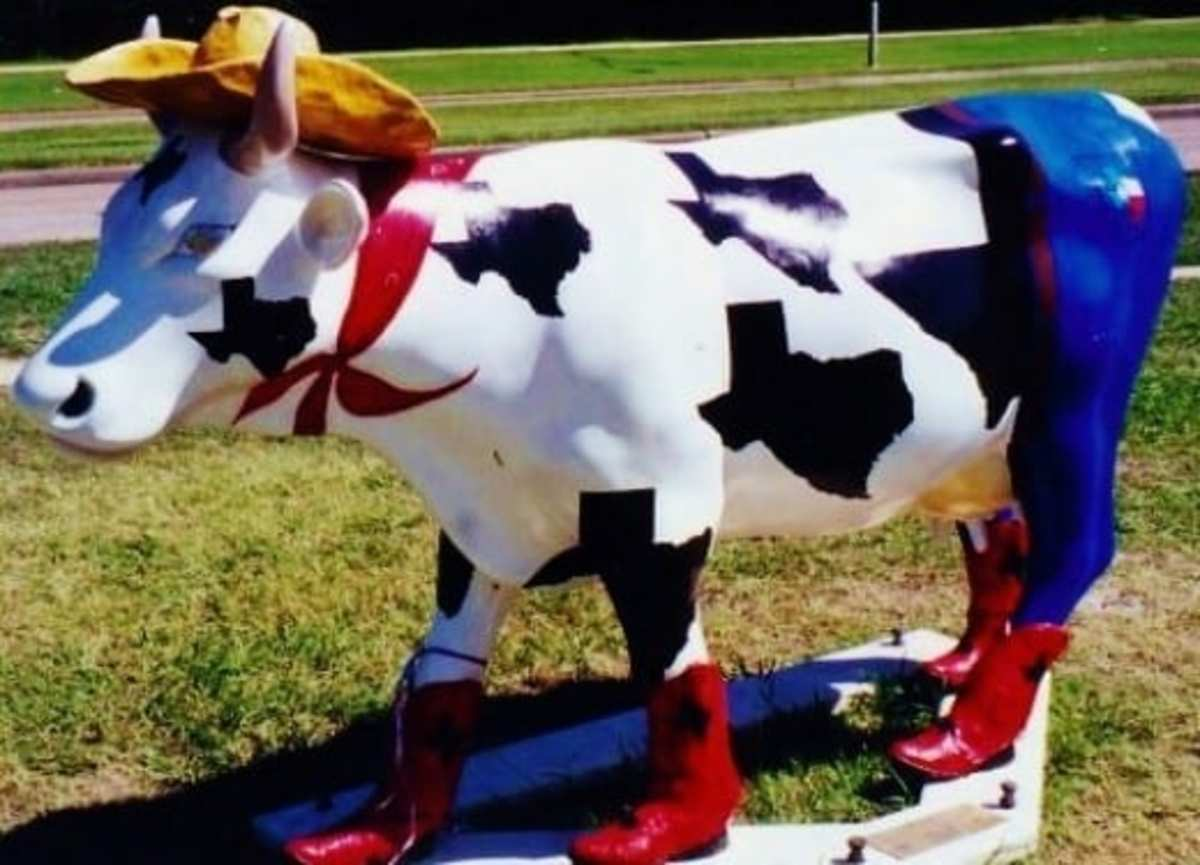 Cow Parade Fun in Houston, Texas: It was Moovelous!