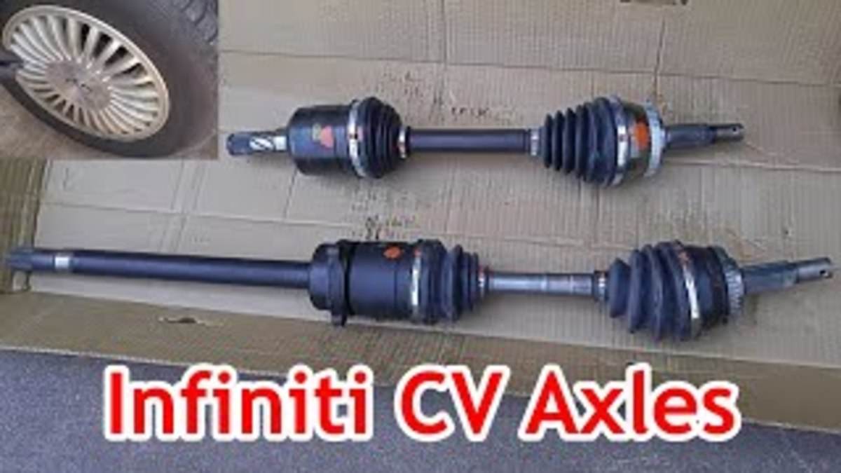 How to Replace the CV Axles on an Infiniti I30 / Nissan Maxima to Stop Wheel Vibration (With Video)