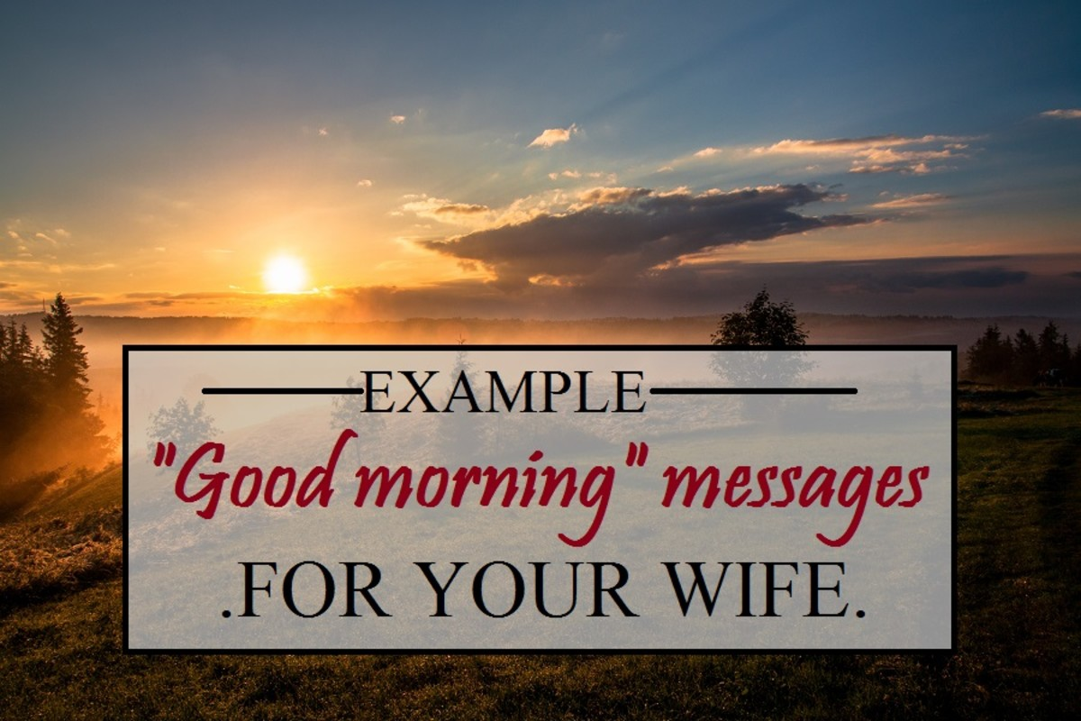 Sweet Good Morning Messages for Your Lovely Wife