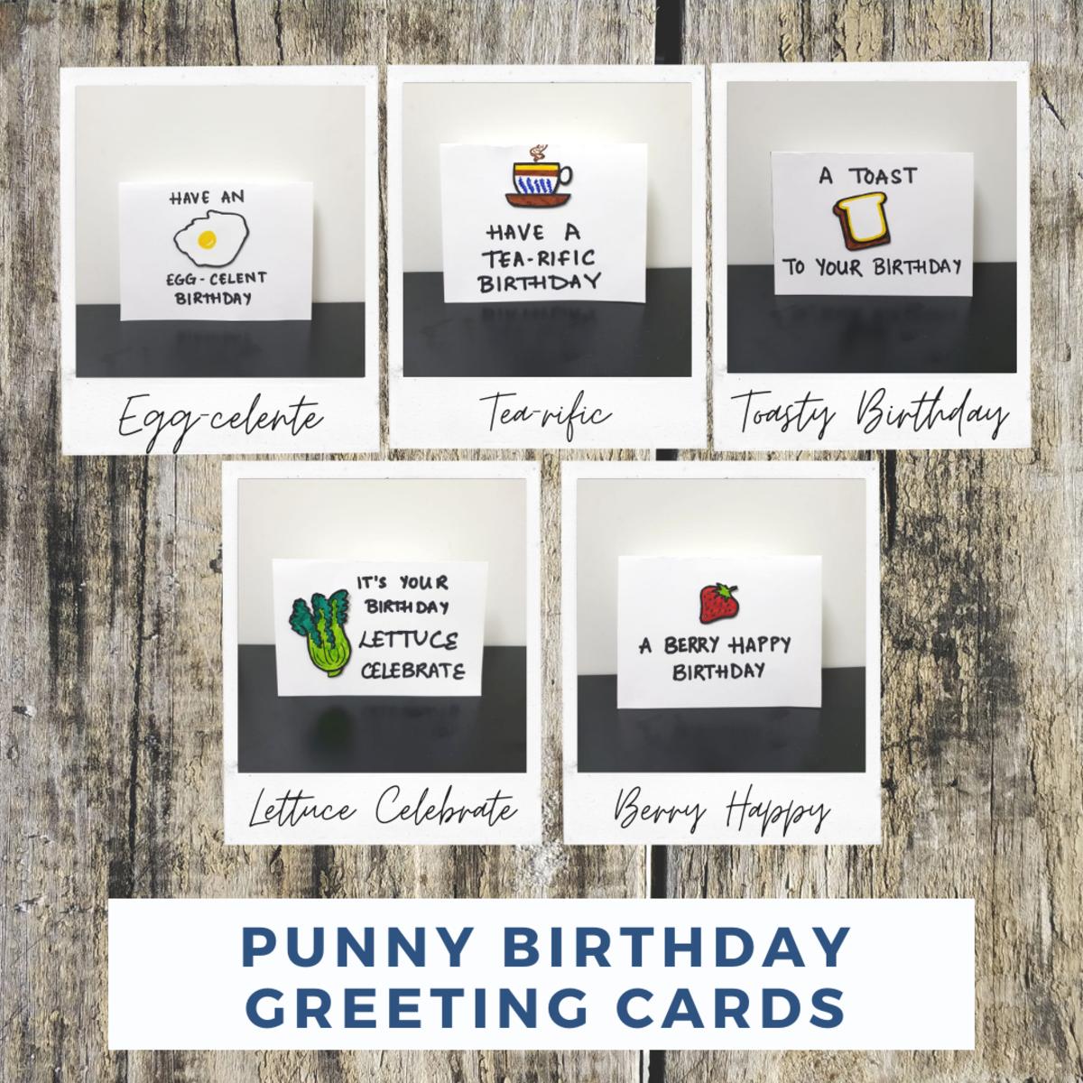 Puns Greeting Card Ideas