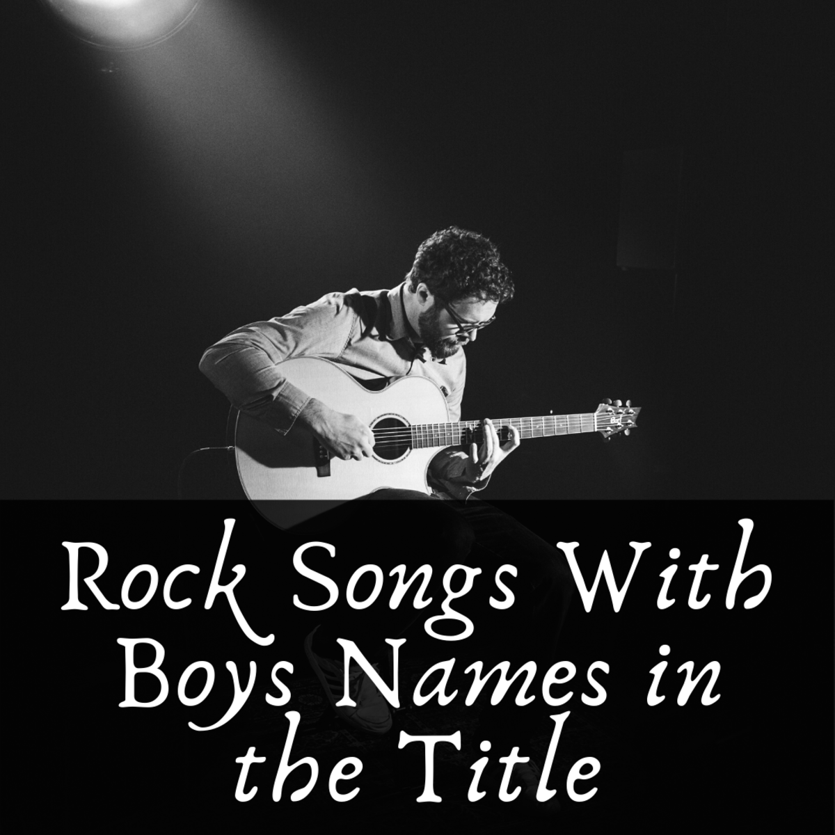 See if your favorite boy's name can be found somewhere on this great list of songs.