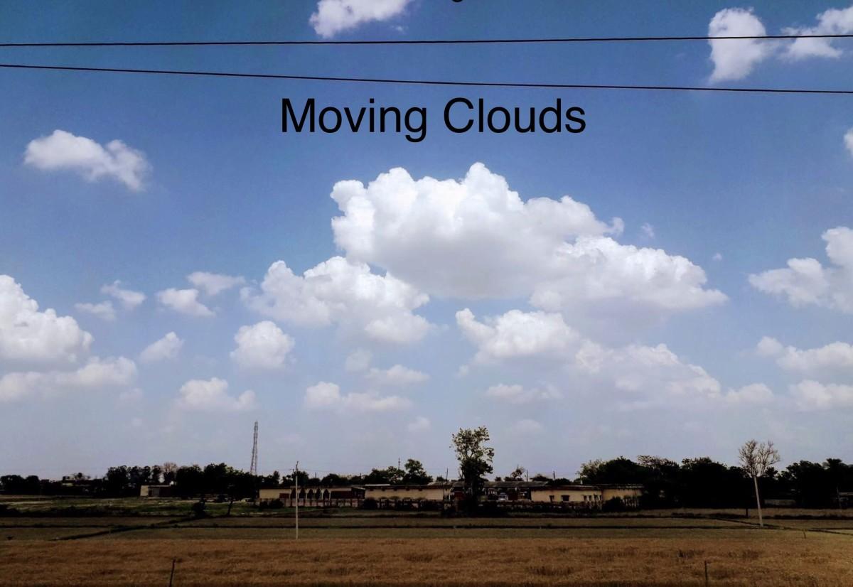 Moving Clouds—Haiku