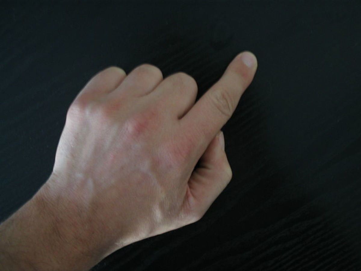 Index fingers are perfect for pointing the way.