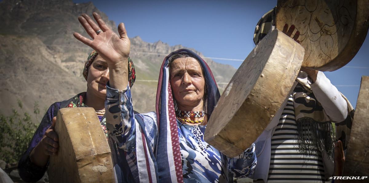 Wedding Procession in Shughnon, Afghanistan