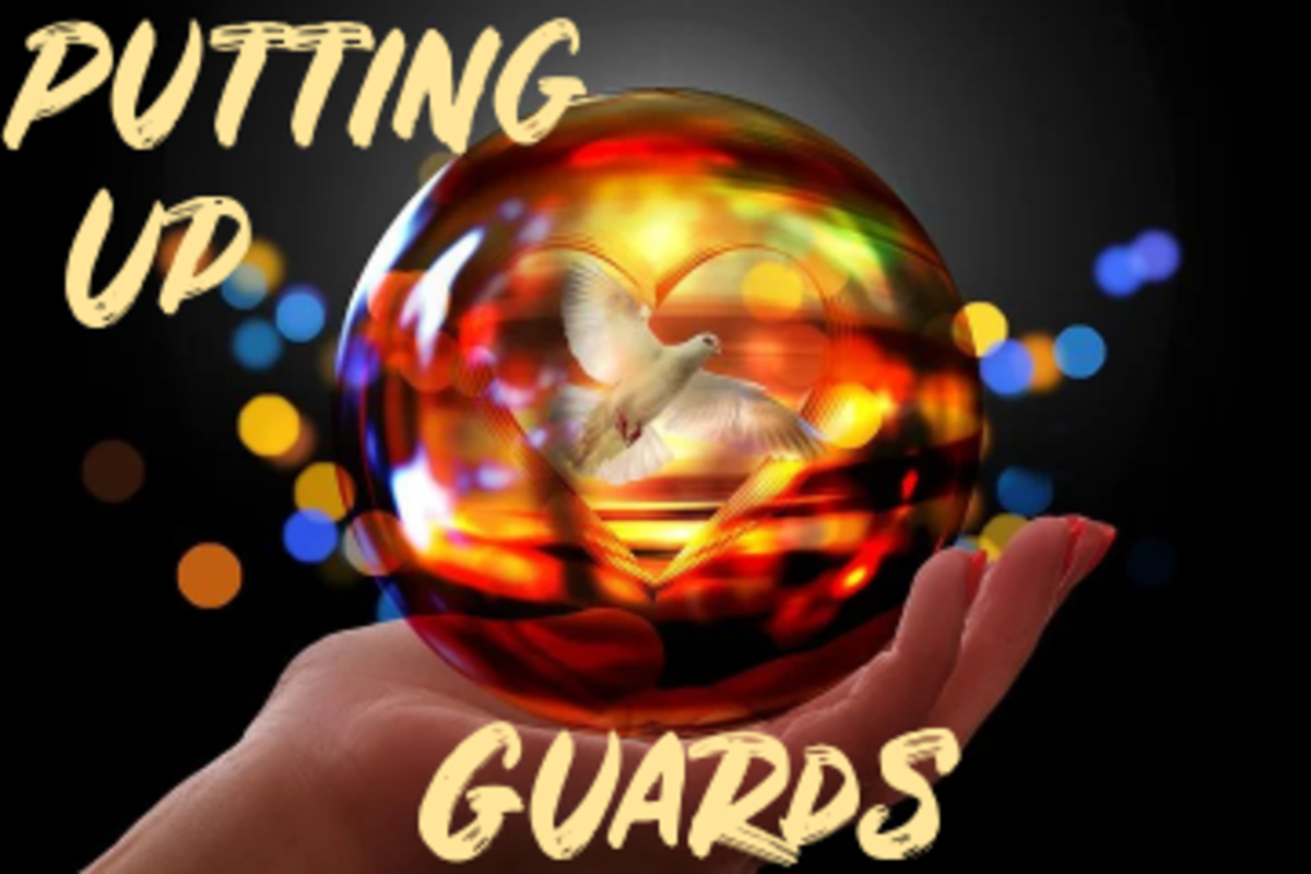 Poem: Putting Up Guards