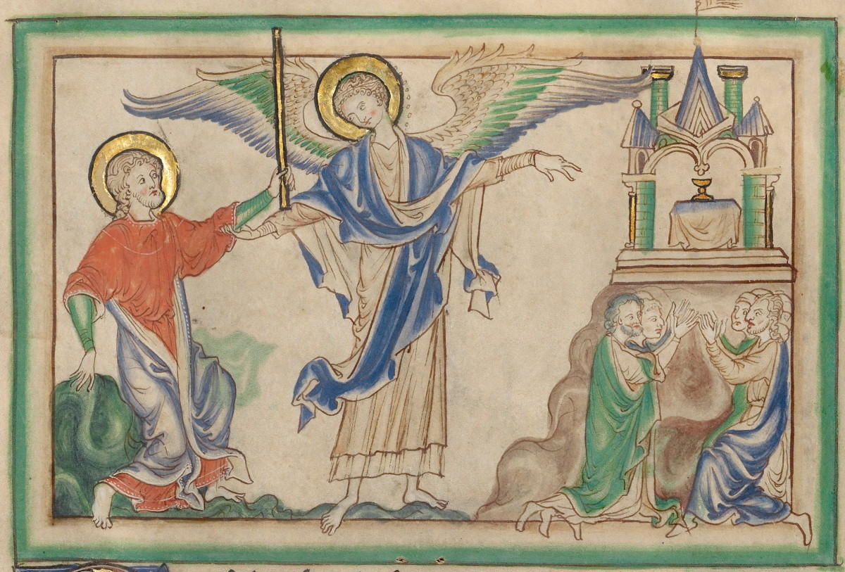 John Measures the Temple (Revelation 11:1-2)