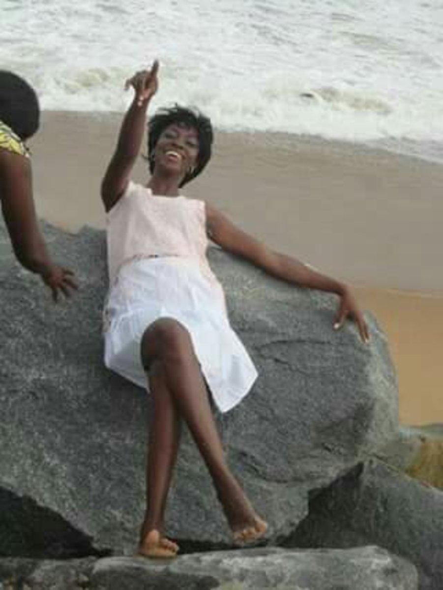 Tola, at Beach in Republic of Benin